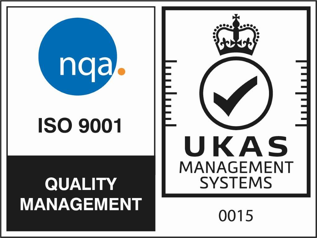 NQA ISO 9001 Quality Management Certified